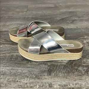 Steve Madden Platform Espadrille Sandals Size 8.5